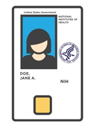 HHS ID Badge Smart Card